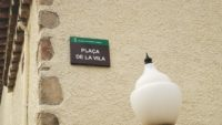 La plaça de la Vila de Riells i Viabrea