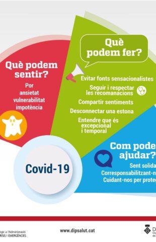 Que podem sentir amb el coronavirus?