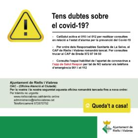 Dubtes covid-19