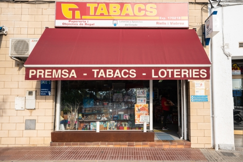 Estanc de Riells – Premsa, tabac i loteries